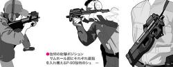 P-90射撃イメージ